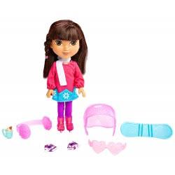 Mattel Fisher-Price Ντόρα & Φίλες - Η Ντόρα Αγαπάει τον Χειμώνα Κούκλα CGN26 / CGV56 887961073362