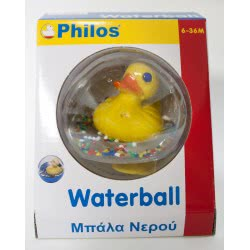 Philos Toys ΜΠΑΛΑ ΝΕΡΟΥ ΠΑΠΑΚΙ 101 5202089001014