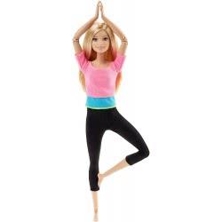 Mattel Barbie Made To Move Αμέτρητες Κινήσεις Pink Top DHL81 / DHL82 887961216226