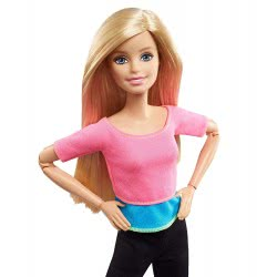 Mattel Barbie Made to Move Pink Top DHL81 / DHL82 887961216226