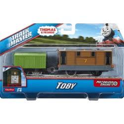 Fisher-Price Thomas And Friends Trackmaster Toby Motorized Engine BMK87 / CDB70 887961036954