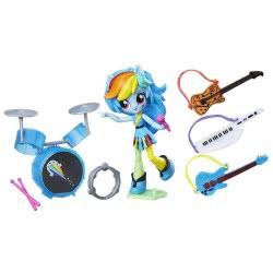 Hasbro My Little Pony Equestria Girls Minis Rainbow Dash Rockin Music Class Set B4910 / B9484 5010993323302