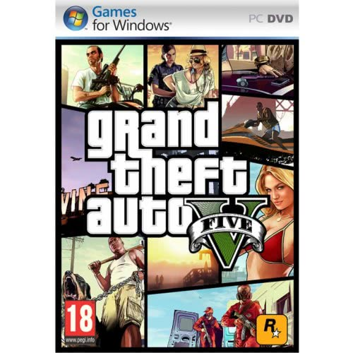 ROCKSTAR GAMES PC GTA V Grand Theft Auto V  5026555063890