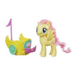 Hasbro My Little Pony Royal Spin-along Chariot Fluttershy Βασιλική βόλτα με άρμα B9159 / B9836 5010993326112