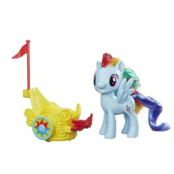 Hasbro My Little Pony Royal Spin-along Chariot Rainbow Dash Βασιλική βόλτα με άρμα B9159 / B9835 5010993326129