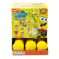 TOMY Μπαλάκια Display Spongebob 20-8080 5011666080805