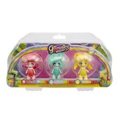 GIOCHI PREZIOSI Glimmies Rainbow Friends Σετ 3 Κούκλες - 2 Σχέδια GLN02110 8056379036203
