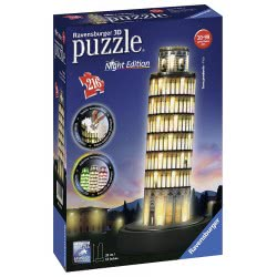 Ravensburger LEANING TOWER OF PISA - NIGHT EDITION, 216PC 3D JIGSAW PUZZLE 12515 4005556125159