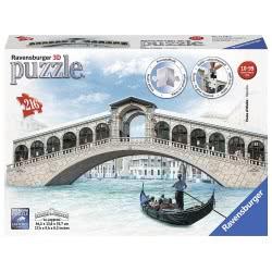Ravensburger Ponte Di Rialto Bridge, 216PC 3D Jigsaw Puzzle 12518 4005556125180