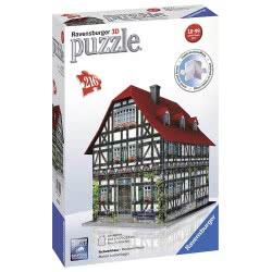 Ravensburger Medieval House 3D Puzzle, 216 Pieces 12572 4005556125722