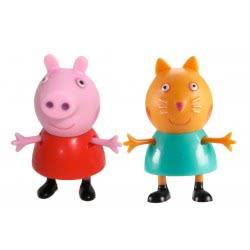 GIOCHI PREZIOSI Peppa Pig Figures Blister 2 Pack - 6 Designs 04430 5029736044305