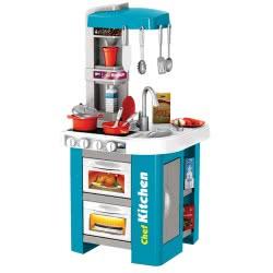Toys-shop D.I Β/Ο Κουζίνα Kitchen Chef Role Play Set - Μπλε 922-44 5205812074248
