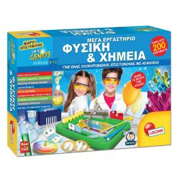 Real Fun Toys Little Scientists-Mega Laboratory-Physics And Chemistry 62669 8008324062669