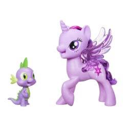 Hasbro My Little Pony Princess Twilight Sparkle Spike The Dragon Friendship Duet C0718 5010993365531