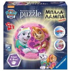 Ravensburger Paw Patrol Puzzleball 3D Sky & Everest 11814 4005556118144