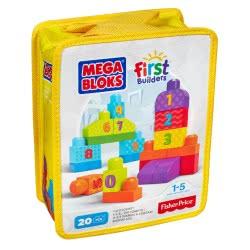 MEGA BLOKS Κλασικά Τουβλάκια 1-2-3 CNH08 / DLH85 887961258950