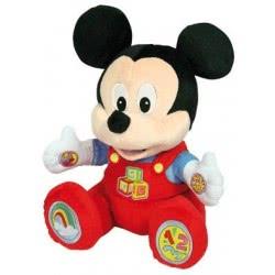 Clementoni baby Disney Baby Mickey Κούκλα Εκμάθησης (Μιλάει Ελληνικά) 1000-63043 8005125630431