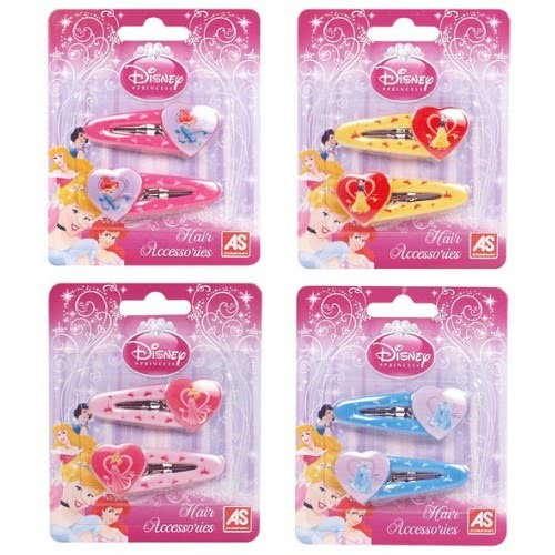 As company Princess Clips Καρδούλες Disney Princess 4 Σχέδια 1014-02283 5203068022839