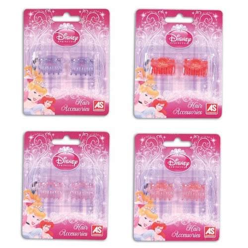 As company Princess Κλαμεράκια Μικρά Disney Princess 4 Σχέδια 1014-02288 5203068022884