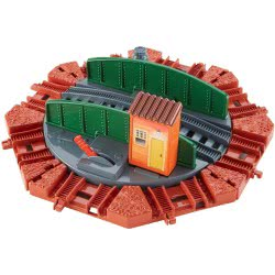 Fisher-Price Fisher Price Τόμας - Tidmouth Turntable Accessories With Rails BMK81 / DFM62 887961175455