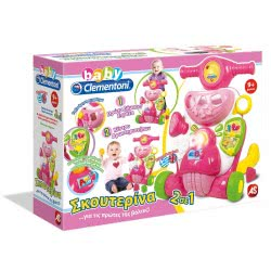 Clementoni baby BABY CLEMENTONI ΣΚΟΥΤΕΡΙΝΑ - ΜΙΛΑΕΙ ΕΛΛΗΝΙΚΑ 1000-63900 8005125639007