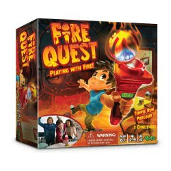 Just toys ΕΠΙΤΡΑΠΕΖΙΟ FIRE QUEST YL041 8719324076333