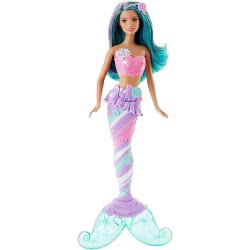 Mattel Barbie Dreamtopia Mermaid Doll Candy With Green Hair DHM45 / DHM46 887961216950