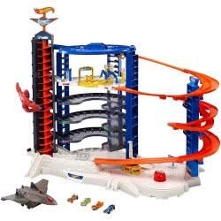 Mattel Hot Wheels Σούπερ Τεράστιο Γκαράζ FDF25 887961466393