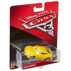 Mattel DISNEY/PIXAR CARS 3 CRUZ RAMIREZ VEHICLE DIE-CAST DXV29 / DXV33 887961403459