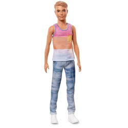 Mattel Barbie Ken Fashionistas No.11 Hyped On Stripes Κούκλα DWK44 / FNH43 887961591712