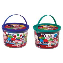 As company Πλαστελίνα Disney Mickey Mouse Κουβαδάκι Με Βαζάκια Και Εργαλεία - 2 Σχέδια 1045-03540 5203068035402
