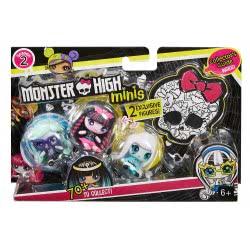 Mattel Monster High Minis 3Τμχ - 5 DVF41 / DXD49 887961393941