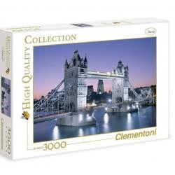 Clementoni Παζλ 3000τεμ Η Γέφυρα Του Λονδίνου 1220-33527 8005125335275