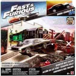 Mattel HOT WHEELS FAST & FURIOUS QUARTER MILE ESCAPE FCG09 / FCG10 887961449426