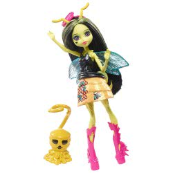 Mattel Monster High Νεράιδες Του Δάσους Φτερωτά Πλάσματα Beetrice FCV47 / FCV49 887961460148
