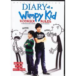 ODEON DVD Diary Of A Wimpy Kid: Rodrick Rules 598103 5201802061069