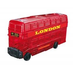 Professor Puzzle 3D Crystal Puzzle: London Bus, 53 Pcs 90129 4893718901297