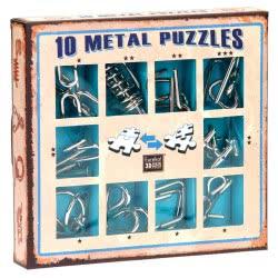Professor Puzzle 10 Metal Puzzles - Μπλε Σετ 10-B 5425004733566