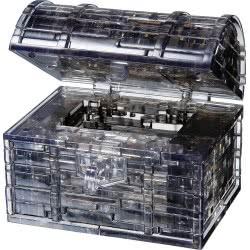 Professor Puzzle 3D Crystal Puzzle: Treasure Chest, 52Pcs 90017 4893718900177