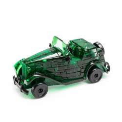 Professor Puzzle 3D Crystal Puzzle: Classic Car Green, 53Pcs 90431 4893718902317