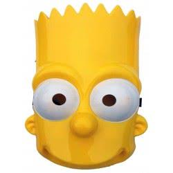 CLOWN Mask Bart Simpson 70679 5203359706790
