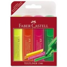 Faber-Castell Σετ 3+1 δώρο μαρκαδόρος υπογράμμισης Fluo promo 5201612770168