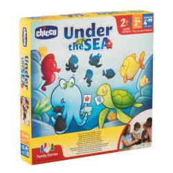 Chicco Board Game Under The SEA Z03-09164-00 8058664080694