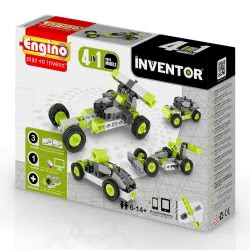 Engino - Inventor 4 in 1 Cars Model 0431 5291664001150