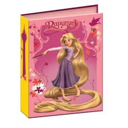 GIM Κλασέρ 17X25cm Princess Rapunzel 31-37500 5204549049048 5204549049048
