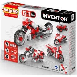 Engino - Inventor 12 Models Motorbikes 1232 5291664001297