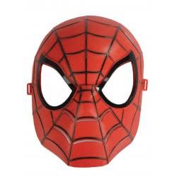 CLOWN Μάσκα Πλαστική Άνθρωπος Αράχνη Κόκκινη 70644 5203359706448