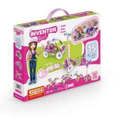 Engino - Inventor Girls 15 Models IG15 5291664001747