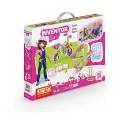 Engino - Inventor Girls 20 Models IG20 5291664001754