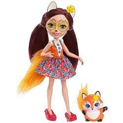 Mattel Enchantimals Doll And Animal Pet Felicity Fox And Flick DVH87 / DVH89 887961370119